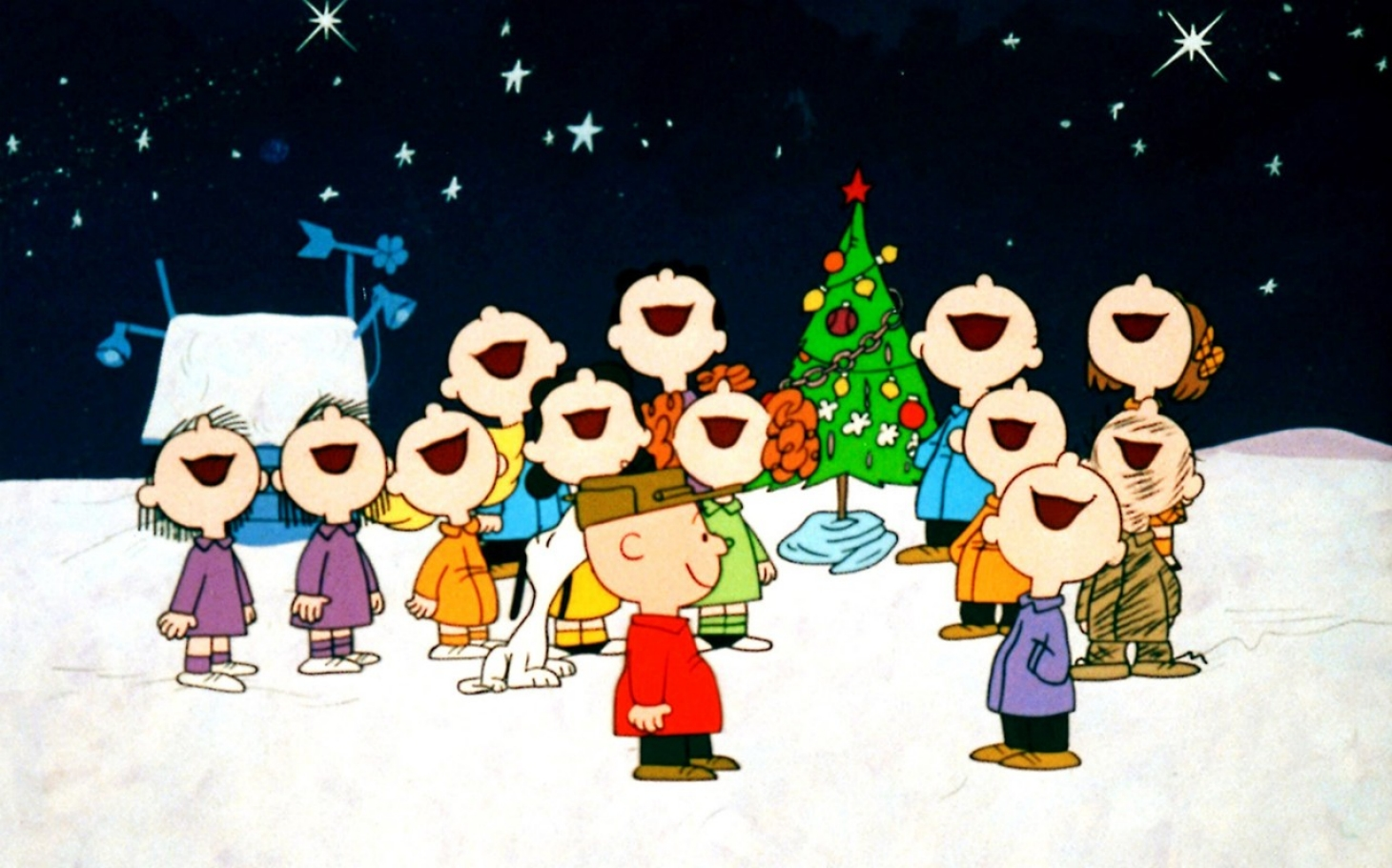 Image result for christmas concert cartoon